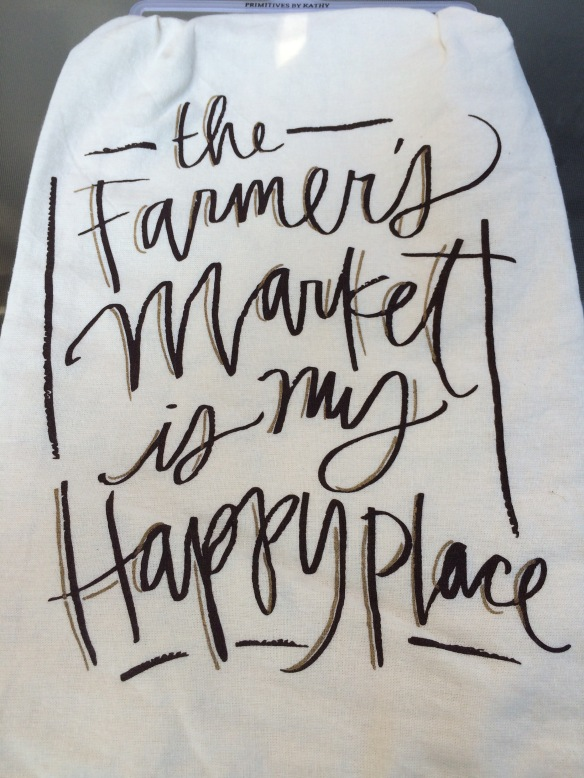 The Farmers' Market is my Happy Place