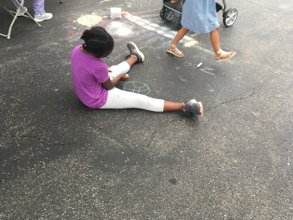 Girl Chalk