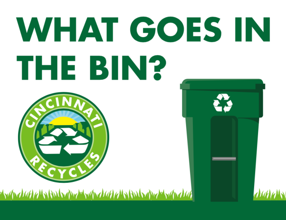 Recycling Bin Sign